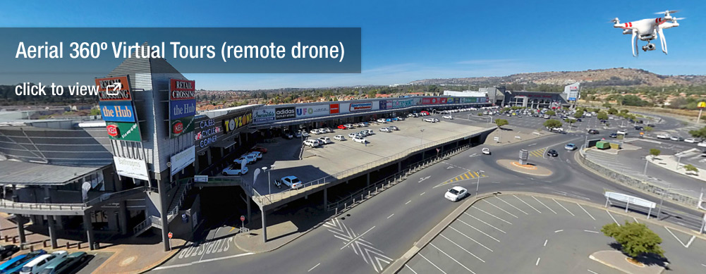 Aerial 360º Virtual Tours with a remote drone